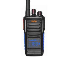 Verstecktes Display5 Reichweite VHF-bidirektionales analoges professionelles bewegliches Radiofunksprechgerät der Watt-5-10km