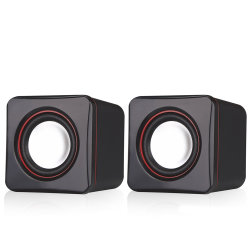 Mini Sound Box USB con altavoces baratos para ordenador