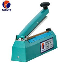 Pfs-300 impulsion à la main avec la date de la machine d'étanchéité de l'impression pour le film en plastique