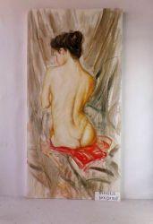 Portrait de la peinture d'huile