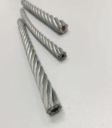 De elektrische Gegalvaniseerde Kabel van de Draad van het Staal 6X12+7FC voor het Opheffen van en het Trekken van Visserij en het Binden