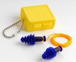 Marcação EN352-2, ANSI S3.19 TPR Tampões de ouvidos reutilizáveis