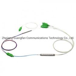 La fibre optique 1x2 FBT le raccord SC/APC 1X4 Fibre séparateur PLC