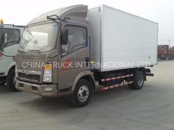 Sinotruck HOWO utilisés ou nouveau 4X2 Light Van aliments véhicule camion réfrigéré