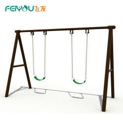 La Chine Feiyou Aire de jeux drôles de sièges doubles pour les enfants Les enfants Ensemble de rotation tube galvanisé