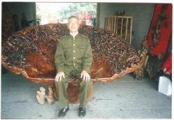 Escultura de raiz (Presidente) (RC001)