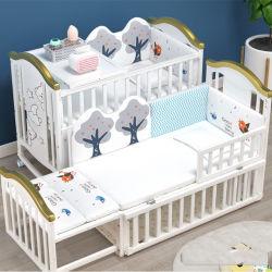 Nuevo espacio Stylle perfecta de diseño nuevo bebé Cuna de Madera /ajustable en altura Cuna