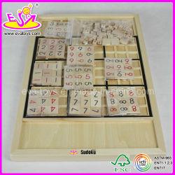 Nouveau Jeu en Bois de Sudoku (W11A016)