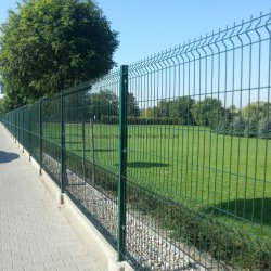 Steel Wiremesh Fence/catena link Fence for Wildlife Sanctuary