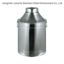 Cuchara de aceite de acero inoxidable// Cubos de aceite de barriles de petróleo