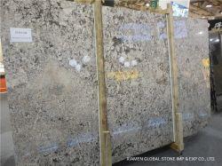 Polidos/Flamed/aperfeiçoou mármore natural/lajes de granito cinzento/marrom/preto/bege Brasil Bianco Granito antigo para piso interior Azulejos bancadas de trabalho
