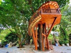 나무 안에 나무 오두막
