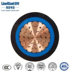 1 à gaine PVC avec isolation XLPE Unarmoured Câble d'alimentation (ZA-YJV) / câble électrique de gros fil de cuivre souple, solide noyau de fil de cuivre, le câble électrique