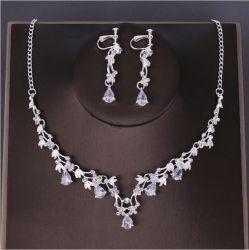Collana Wedding impostata orecchini di cristallo coreani di modo