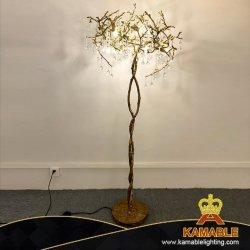 Décoration de luxe Interior Design Art Golden-de-chaussée de la lampe en laiton (KJF001)