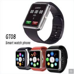 Assista a vigilância inteligente Phone 2019 Grosso Câmara Android Smartwatch Bluetooth Wrist Mobile Vigilância inteligente com ranhura de cartão SIM Sport Gt08
