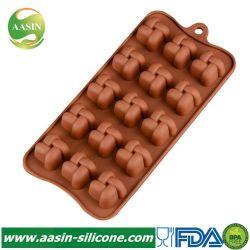 실리콘 굽기 형 FDA 3D 실리콘 초콜렛 형