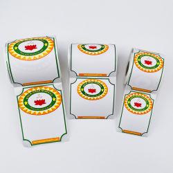 Custom супермаркет цена печати Термобумага клей продовольственной рулон наклеек