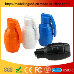Grenade en plastique de simulation de disque USB/Lecteur Flash USB en PVC pour ventilateur militaire