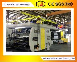 Economische PLC van de Hoge snelheid van het Type Controle Zes Machine van de Druk van Ci van de Koppen van het Document van de Laag van de Kleur de Dubbele Flexographic