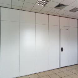 Cloisons se pliantes de salle de conférence acoustiques en bois de murs de bureau