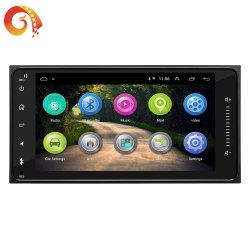 Autoradio 7pouces écran tactile LCD Android 7169 2 DIN autoradio lecteur audio Bluetooth automatique des langues multiples Caméra Vue arrière Support de lecteur de DVD VLC Apk GPS