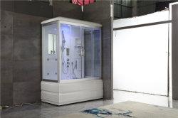 Zwei Personen-Acrylstrudel-Massage-Badewanne computergesteuerter Steuernaßdampf-Raum (Y836)