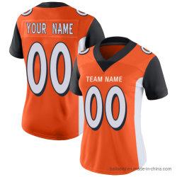 Оптовая торговля взрослых Bengals футболках nikeid новый дизайн пользовательских футбола износа