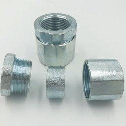 Ferro maleável rígida/IMC o acoplamento de tubos tipo de Três Peças fornecidas provenientes da China
