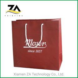 حقيبة ورق مطبوعة مخصصة مع شعار طباعة أفضل سعر