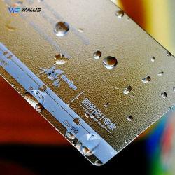 Transparentes personalizados PVC translúcido cartões de jato de tinta