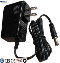 De Muur van de Stop van de V.S. zet de Adapter van de Macht van de 9V1.3A12W AC gelijkstroom Omschakeling met de c-Tik van het CITIZENS BAND SAA TUV van Ce CEI- Certificaat op