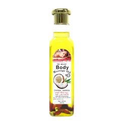 Il fornitore fornisce l'olio essenziale della noce di cocco del Moisturizer dell'olio di massaggio