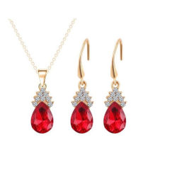 I monili delle donne hanno impostato la collana Pendant Chain ovale e gli orecchini del nastro sterlina 925 impostati