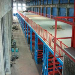 Q235鋼鉄物質的な保管倉庫の産業プラットホームラック