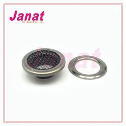 Net coberto o olhal de metal Design especial o olhal de latão no olhal de Aço Inoxidável