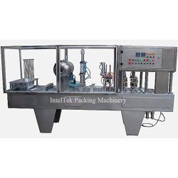 Bg60A Hight 생산 땅콩 버터 컵 충전물과 밀봉 기계장치