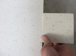 Baumaterial-Gegenoberseite-Eitelkeits-oberste feste Oberfläche