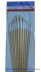 #582 ha sparito le spazzole cape rotonde dell'artista della spazzola dell'articolo della maniglia di legno