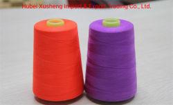 Superior qualidade 40/2 100% de fibras de poliéster bonderizado
