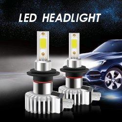 Auto-Scheinwerfer-Lampe D9 H7 der Ventilator-Entwurfs-sondern Automobilbeleuchtung-LED Träger PFEILER LED für Selbstauto aus