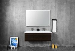Bay 1200*438*380mm, alta calidad, buen precio Archivador de gran tamaño Superficie sólida pared colgado nuevos productos de tocador de baño moderno