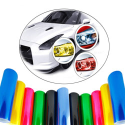 卸し売りヘッドライトの色合いのフィルム車ライトフィルム車ランプの色合いのフィルム車のステッカー
