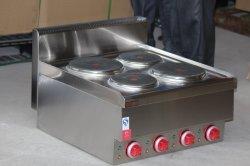 Handelsbrenner-elektrischer heiße Platten-Ofen des Edelstahl-4 für Kocher