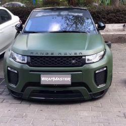 Vert de l'armée en céramique Tsautop adhésif en vinyle mat les autocollants de voiture
