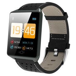 Monitor de freqüência cardíaca de moda da Pressão Arterial Smartwatch IP67