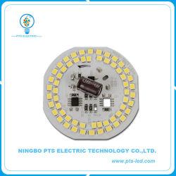 20W AC Dob módulo LED com formato arredondado e 105lm/W