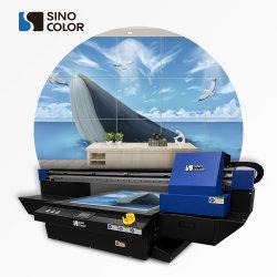 A1 Dx8 i3200-U الزجاج الرقمي بالأشعة فوق البنفسجية الخزفية Acrylic MDF PVC ماكينة طباعة مسطحة منقوشة على 3D