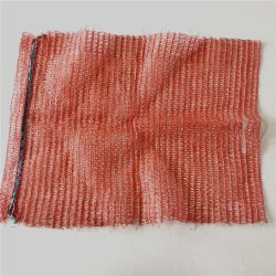 PE Raschel tubulaire de bonneterie fruits sac Mesh pour l'emballage orange