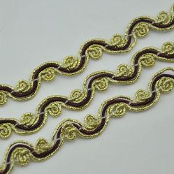 Accessori decorativi dell'indumento e della tessile del testo fisso del merletto di modo